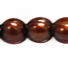 potato pearls copper 8-9mm large hole wholesale beads