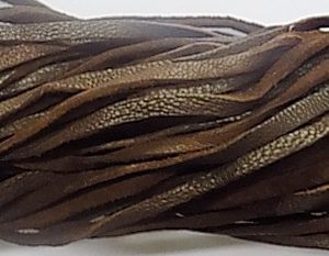 wholesale Falt leather cord brown 50 meters