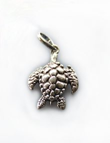 Thai silver charm sea turtle
