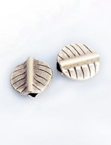 Thai silver leaf 11mm wholesale beads