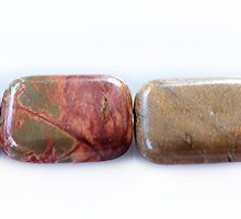 red creek jasper rectangle wholesale gemstones