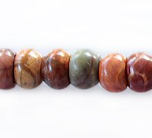 red creek jasper rondelle 6x4mm wholesale gemstones