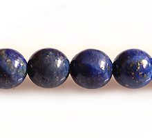 lapis round beads 6mm dark shade wholesale gemstones