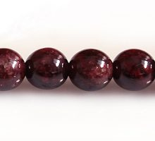 Garnet round beads 6mm DYED wholesale gemstones