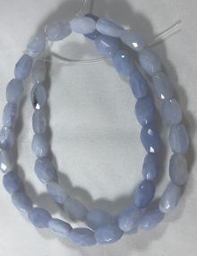 chalcedony blue oval 10x8mm