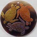 wholesale tab shell round turtles pendant