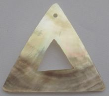 Blacklip triangle plain