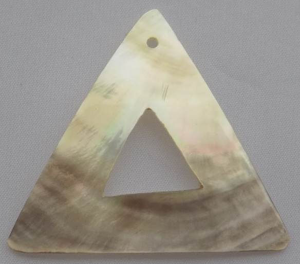 Blacklip triangle plain