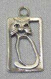 Small Cat Framed Pendant Wholesale