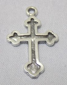sterling silver Cross Pendant - Outlined