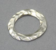 sterling silver Hammered Oval Wholesale