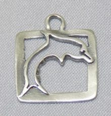 Dolphin Framed Pendant Wholesale