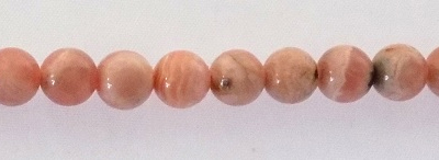 Rhodochrosite Beads -5mm wholesale gemstones