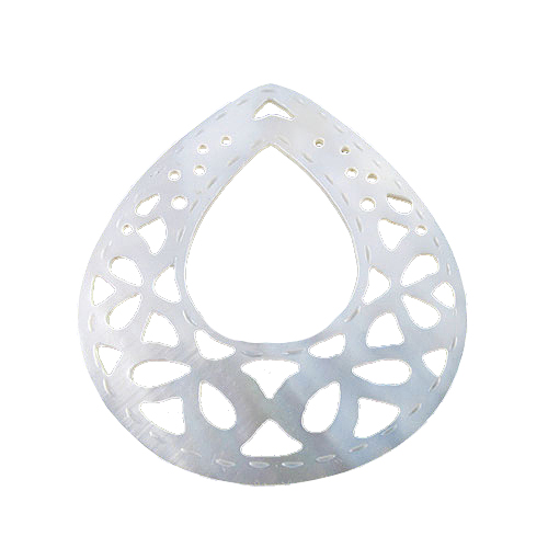 Makabibi Shell Carved Pendant