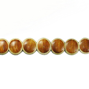 Bayong round wood parqueted21mm