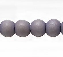 Wholesale White wood 6mm round dyed beads lavender with 2mm hole-Limited Stock Only