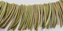 Coco sticks dyed light khaki 10x50mm