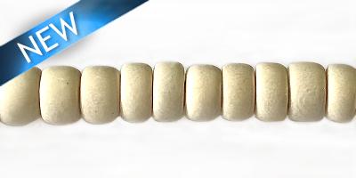 Whitewood pukalet beads 7mm