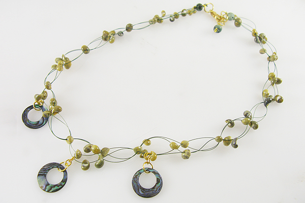 St. Patrick's Day necklace 2