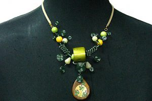 St. Patrick's Day necklace 3