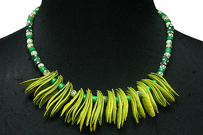 St. Patrick's Day necklace 4